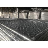 Buy cheap Hot Dipped Galvanized Construction Fencing Panels 1830mm x 3650mm/6'x12' Outer tube 41.2mm HDG 100gram/sqm from wholesalers