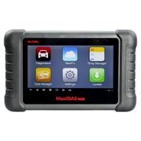 Wholesale Latest AUTEL MaxiDAS DS808 KIT Tablet Diagnostic Tool Full Set Support Injector & Key Coding Update Online from china suppliers