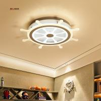 Wholesale Children's room Ceiling light LED Modern rudder design Acrylic protection vision Children's room surface mounted ceiling from china suppliers