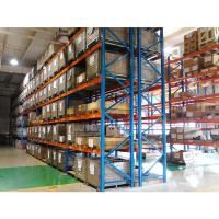 China Mild Steel Heavy Duty Warehouse Storage Pallet Rack For Building Materials on sale