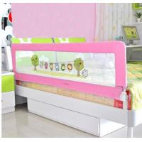 Wholesale Pink Cartoon Plastic 1.8m Portable Bed Rails Mesh Toddler Bed Rail from china suppliers