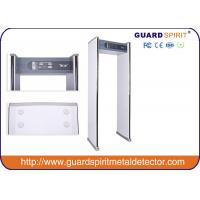 Wholesale high sensitivity Walk Through metal Detector , Door frame Metal Detectors with 4 Hours Battery Backup from china suppliers