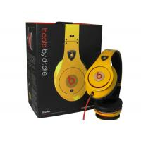 Wholesale Special Edition Extra Large Speaker Noise Cancel Lamborghin Monster Beat Studio Headphones from china suppliers