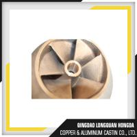 China Brass / Copper / Bronze Sand Casting Parts For Pipe Fitting ISO 9001 Certified on sale