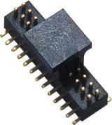 26 Pin Male Connector 1.0mm SMT  PA9T WCON Dual Row Header For Digital Camera