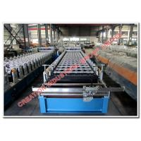 Wholesale Color Iron Roofing Glazed Tile Panel Manufacturing Machine with Hydraulic Presser and Cutter from china suppliers