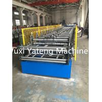 Quality High Durable Galvanized Steel Double Layer Roll Forming Machine PLC Control System for sale