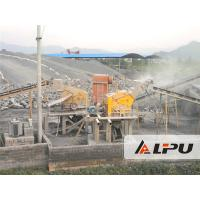 Wholesale River Stone Crusher Machine , Cobble / Limestone Aggregate Crushing Plant 450t/h from china suppliers
