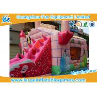 Wholesale Commercial Funny Inflatable Princess Bouncy Castle With Slide For Children Toys from china suppliers