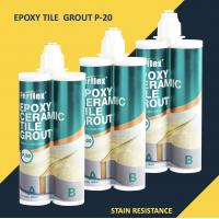 China Glitter Stone Tile Grout Filler / Tile Joint Grout Natural Delicate Color on sale