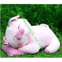 Wholesale Cute Stuffed Soft Toy Pillow , Pink White Pig Cute Plush Toys For Children from china suppliers