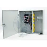 Quality Intdoor wall mounted 48 ports fiber optic terminal distribution box for sale