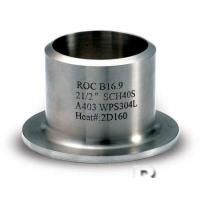 Buy cheap Butt Weld Fittings,Stub Ends,A234-WP11 A234-WP22 A234-WP5, A234-WP9, A234-WP91,Type A,Type B,Type C,Type D,B16.9 from wholesalers