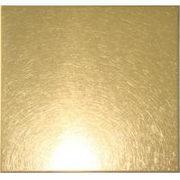 Wholesale Vibration Finish Ti-coating Anti-fingerprint Colored Stainless Steel Sheet from china suppliers