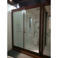 Wholesale Matt Chrome Complete Shower Enclosures 120 X 150 X 210cm Complete Shower Cabins from china suppliers
