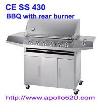 Wholesale Gas Barbeque with Rear Burner from china suppliers