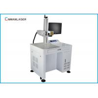 Wholesale Small Scale 110*110mm EZCAD Software 20w Fiber Laser Marking Machine With Computer from china suppliers