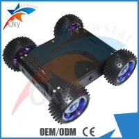 Wholesale RC Car Diy Robot Kit 4WD Drive Aluminum Electric Smart Car Robot Platform from china suppliers
