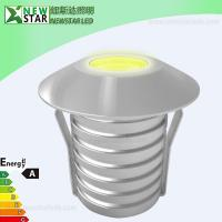 Wholesale IP67 40 Degree 12V Single Color 1W LED Inground Light, 1W LED Spotlight from china suppliers