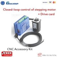 Wholesale HSS 57 Closed Loop Stepper Motor DIY CNC Kit With Drive Card Stepping Driver from china suppliers