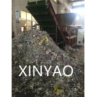 Solid Rotor Removable Hopper Shredder For Plastic , Single Shaft Industrial Plastic Shredder