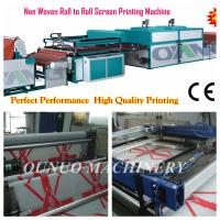 Wholesale two color Non Woven Screen Printing Machine for nonwoven bags from china suppliers