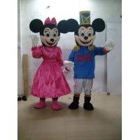 Wholesale Traditional Cartoon costume character Disney mouse for costum,Plush dress mascot costume from china suppliers