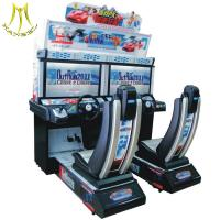 Wholesale Hansel coin operated outdoor run car simulator driving Arcade Racing Game Machine for amusement park from china suppliers