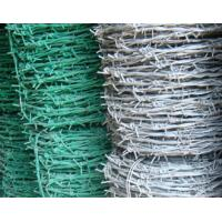 Wholesale Residential Buildings Galvanised Barbed Wire Traditional / Double Twisted from china suppliers