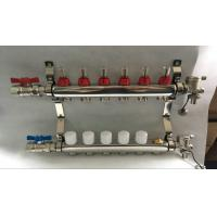 Quality Reliance Underfloor Heating Manifold With Italy Long  Flow Meter for sale