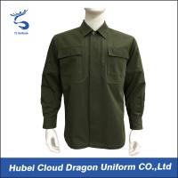 Wholesale Customized Army Green Military Tactical Jackets For Spring / Autumn , Hand / Machined Wash from china suppliers