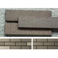 Wholesale Outside Brick Veneer Wall Panels Clay Wall Building Material With Rough Surface from china suppliers