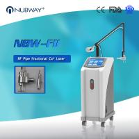 Wholesale 40W 10600nm Glass pipe Skin resurfacing Fractional CO2 Laser machine clinic from china suppliers