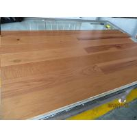 Buy cheap hickory engineered wood flooring, flat surface with natural color, ABCD grade from wholesalers