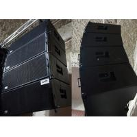 Wholesale High Quality Outdoor Sound System Two-way Double 10 inch 800 Watts RMS Line Array speakers from china suppliers