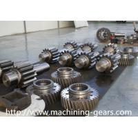 Wholesale Aluminium / Copper Double Gears CNC Milling Spur Helical Gear Sand Blasted from china suppliers