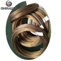 Buy cheap 0Cr25Al5 Diameter 3.0mm Heat Resistant Wire Fecral Gold 700 Mpa Tensile Strength from wholesalers
