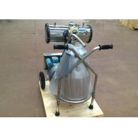 Wholesale Automatic Single Bucket Cows Milking Machine , Dairy Equipments for Cows from china suppliers