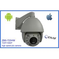 Wholesale 7 Inch Mini PTZ Network Camera IP66 High Speed 20 Optical Zoom Die-Cast Housing from china suppliers