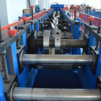 Wholesale Cold Rolled Lipped CZ Purlin Roll Forming Machine , Galvanized Cold Forming Machine from china suppliers