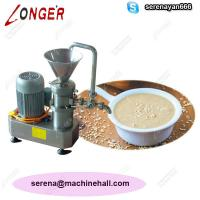 Wholesale Tahini Making Machine|Sesame Paste Grinding Machine|Nuts Butter Maker from china suppliers