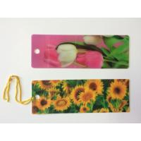 Wholesale Custom 0.6 mm PET 3D Lenticular Bookmarks With Two Sides CMYK Printing ISO from china suppliers