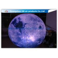Wholesale Giant Inflatable Lighting Decoration Ground Moon Ball With LED Lights from china suppliers