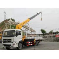 Wholesale Dongfeng LHD 6x4 15 Ton Crane Truck , Mobile Crane Truck With Telescopic Boom from china suppliers