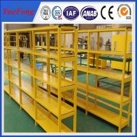 Wholesale HOT! China factory oversea wholesales powder coated aluminum profiles for shelves from china suppliers