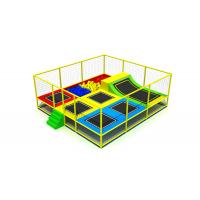 Buy cheap Different Colors Trampoline Indoor Playground Big Diameter Galvanized Steel Pipe from wholesalers