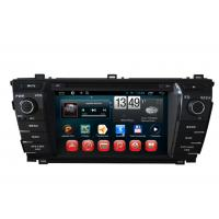 Wholesale 2014 Toyota Corolla GPS Navigation Android DVD Player 7inch Touch Panel from china suppliers