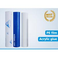 Wholesale Good weatherability polyethylene stainless steel protective film from china suppliers