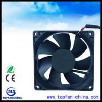 Wholesale High Temperature Exhaust 12 Volt Axial Fan For Computer Cases , 80mm X 80mm X 25mm / Computer Mainframe from china suppliers