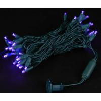 Wholesale Wide Angle 5MM LED Lights - 70 5mm Purple LED Christmas Lights from china suppliers